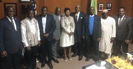 The Embassy of Sierra Leone in Washington D.C. this week hosted U.S Congressman Gregory Meeks, a Democratic Member of the House of Representatives from Queens, New York, who recently became Chairman of the Foreign Affairs Committee, and the congressman revealed new plans for cooperation with Africa