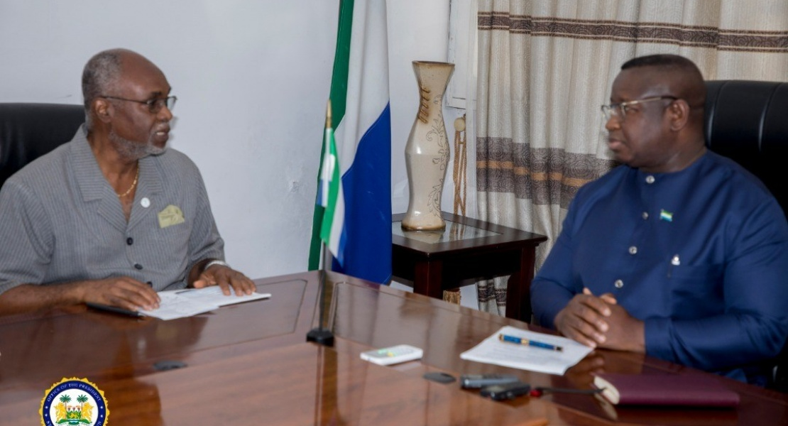 President Dr Julius Maada Bio Engages National Olympic Committee of Sierra Leone